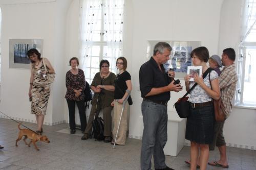 Vernisáž fotografií Mileny Valuškové 9.7.2011